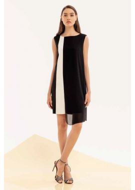 Sukienka XT STUDIO BlackWhite