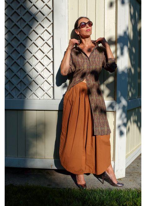 Sukienka LAUREN VIDAL khaki